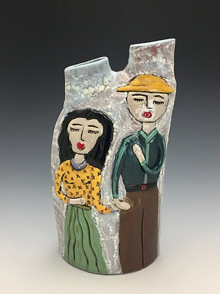 """""""Always and Forever II"""" - SOLD - Artful Home - Vase"""