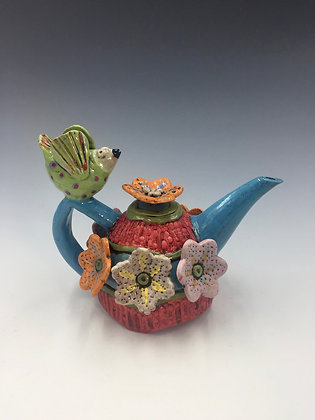 """Mommy to Be"" - Bird Teapot - SOLD, Direct by Me"