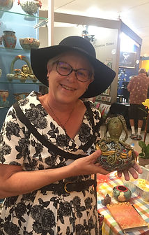 Lilia Venier Ceramics Customer, Jar with Octopus