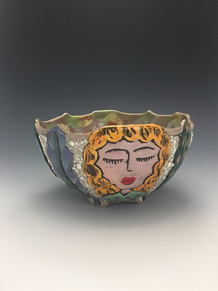 """High School Friends VII"" - SOLD, Artful Home - Bowl"