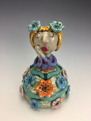 """Vicky"" - SOLD - Artful Home - Jar with Girl"