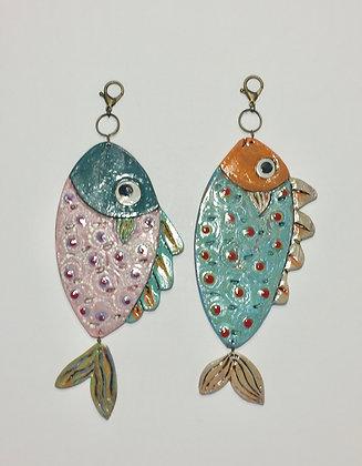 Fish Tiles II - SOLD