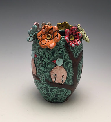 Spring Season - SOLD - Vase with Flowers