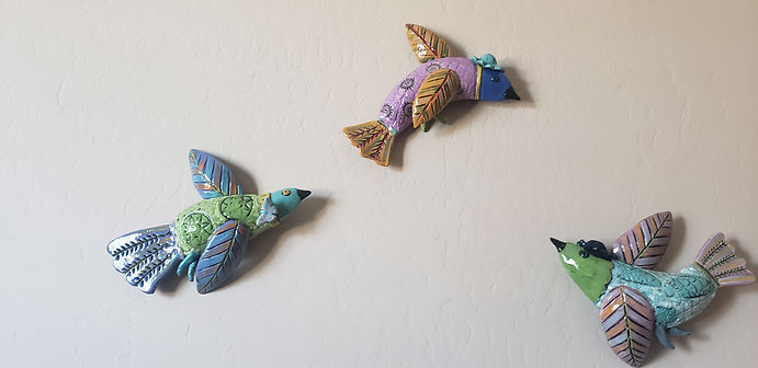 Three Birds Wall Art