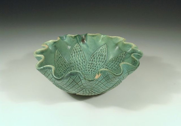 Bowl - SOLD - Bowl with Flowers
