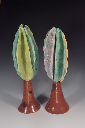 Pair of Trees - SOLD - Sculpture with Trees