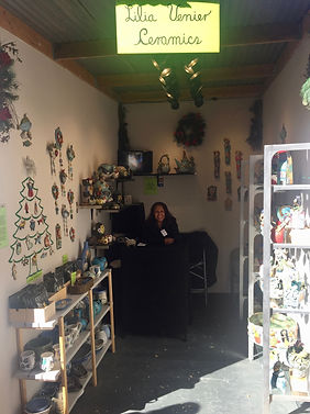 Sawdust Winter Fantasy, Lilia Venier, Ceramic Artist, Booth 308