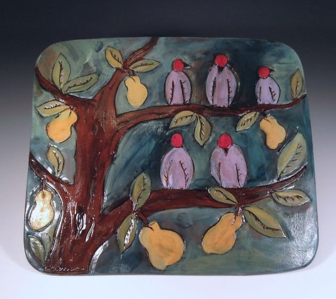 Resting in a Pear Tree - SOLD