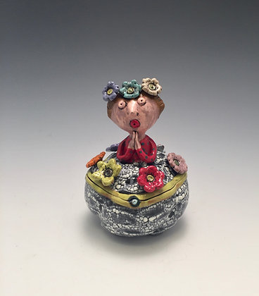 Esperanza - SOLD - Vase with Woman's Face
