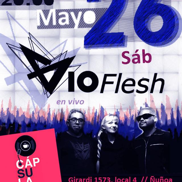 Vioflesh en vivo Intimo Cápsula Coffee & Vinyl