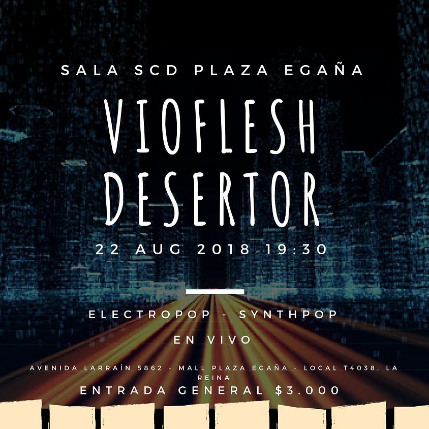Vioflesh en vivo Lanzamiento segundo single Calor
