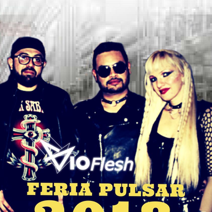 Vioflesh en vivo Feria Pulsar 2018