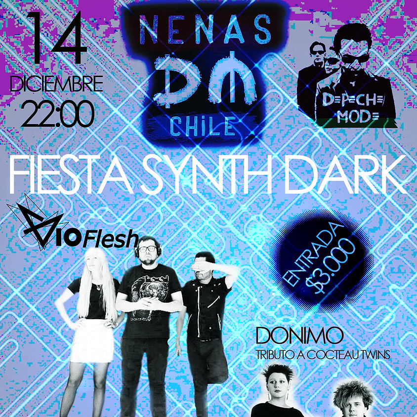 Fiesta Synth Dark Vioflesh + Fiesta DM Bar la Juguera