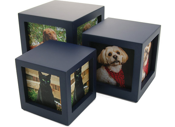 Photo Cube: Sm (Pets up to 25 lb)
