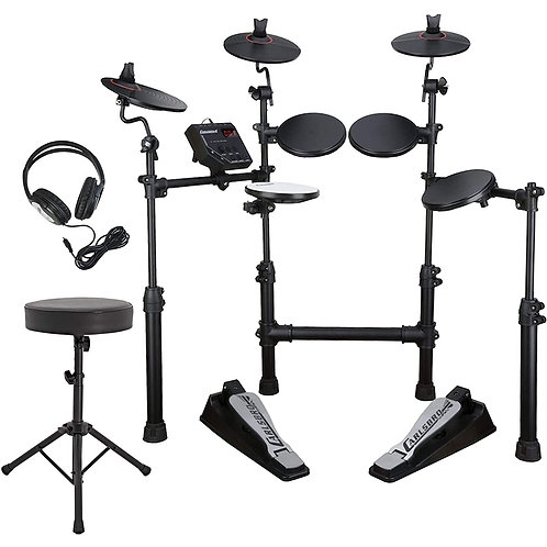 Carlsbro CSD 100 Electronic Drum Kit - Bundle Pack
