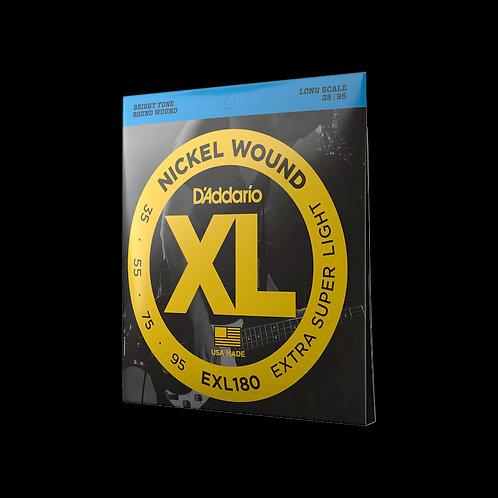 D'Addario ELX180 Bass Strings