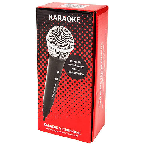 Easy Karaoke Uni-Directional Dynamic Microphone ~ Wireless