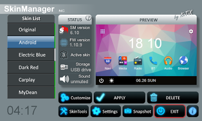 Skinmanager 6.1 and Radio Editor 2 with radio stations logos support