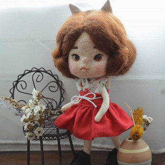 Little fox girl_#doll #hoffmannstoybox #