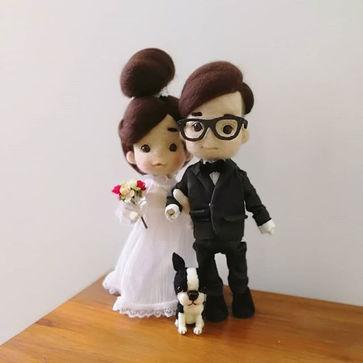 A commission work._#wedding #doll #littl