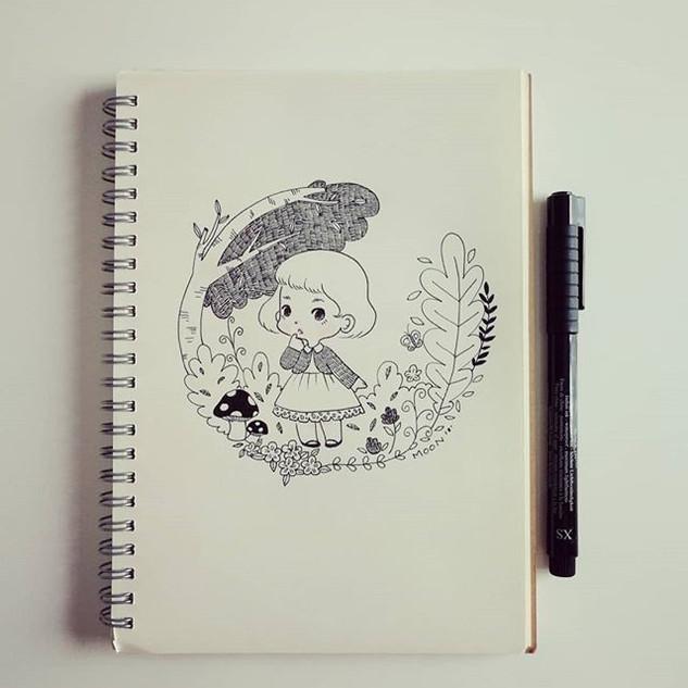 Doodle._#doodle  #littlepoupeestudio #ha