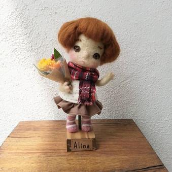 #handmade  #dolls #ooakdoll  #needlefelt