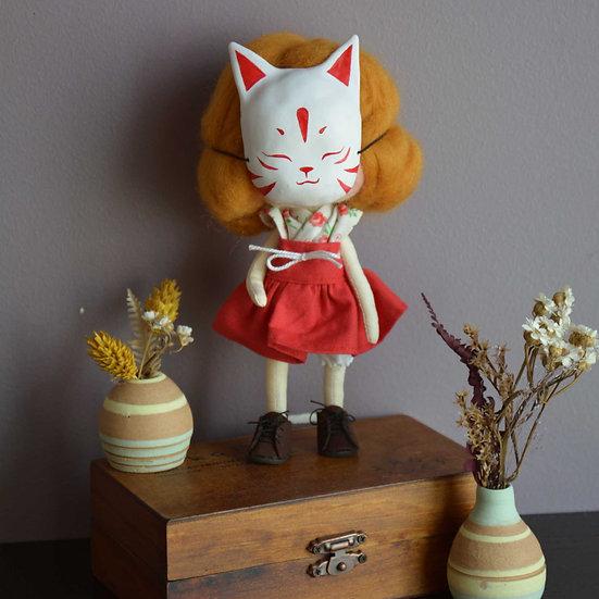 Fox mask girl