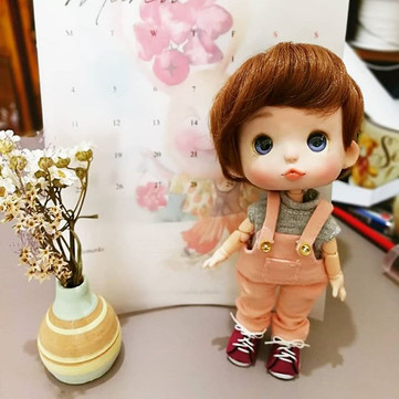 Ob11 doll head come out !!_#littlepoupee