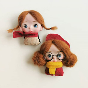 New brooches!!_#doll #polymerdoll #brooc