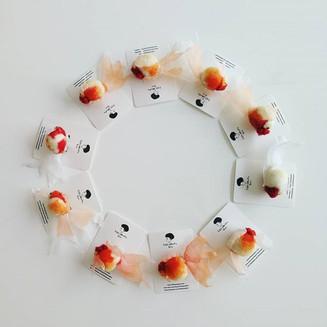 Goldfish brooch 2.0_#needlefeltbrooch #b