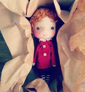 littlepoupees _#doll  #wool  #handmade