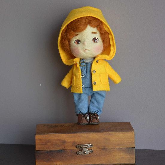 Yellow hood boy