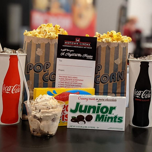 A Night at the Movies voucher