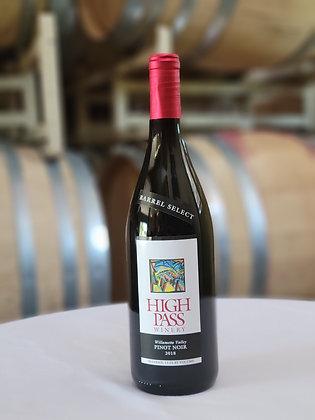 2018 High Pass Pinot Noir, Barrel Select