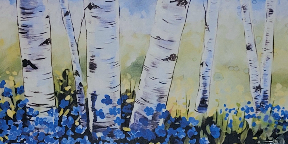 Mothers Day Weekend Wine and Paint: Summer Birch at High Pass Winery