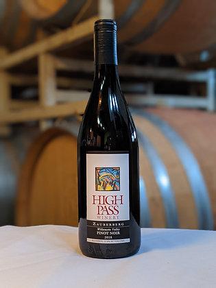 2018 Zauberberg Pinot Noir, Unfiltered