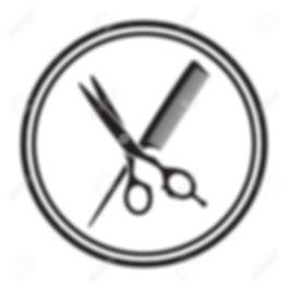 22680371-Scissors-and-comb-icon-Stock-Ve