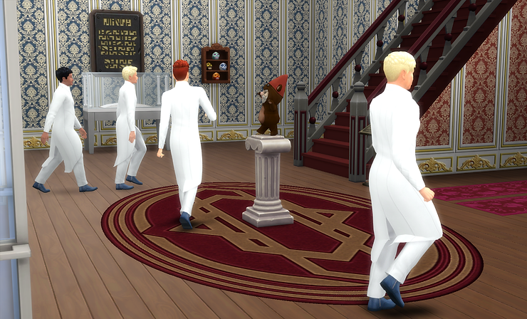 Made a Masonic/Moose Lodge type club — The Sims Forums