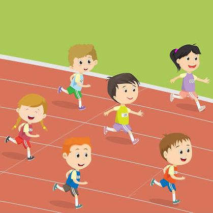 Track Meet Kids