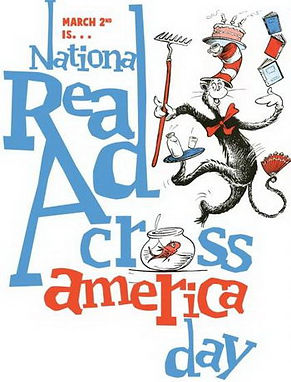 March 2nd is Read Across America Day!