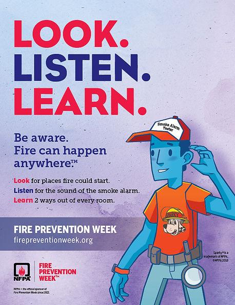 Fire Prevention Week Logo