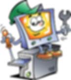 Computer Fixing Himself