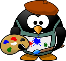 painter-penguin