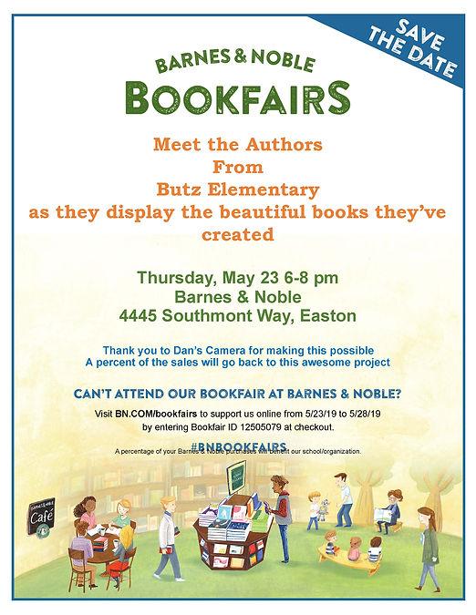 Butz Elementary Meet The Authors Flyer.j