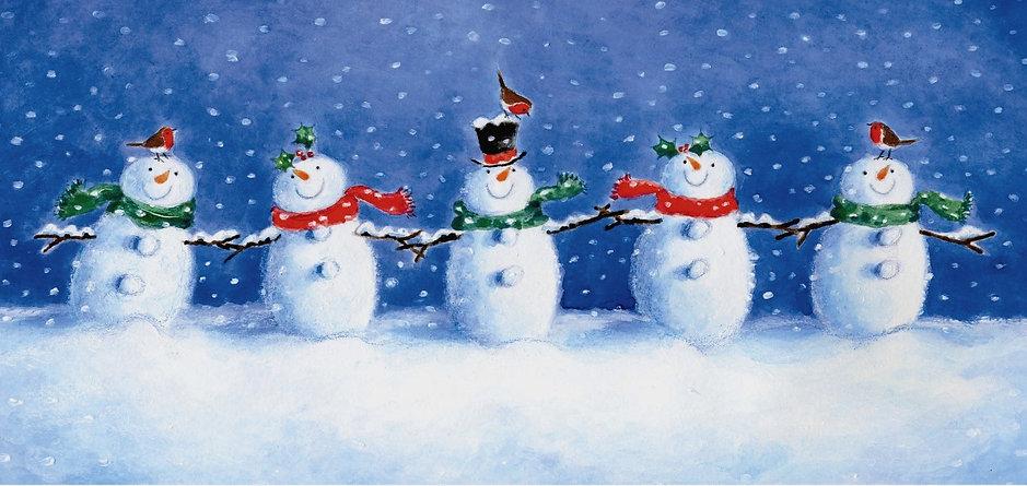 Five Snowmen