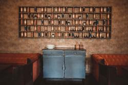 Copper Steel Table