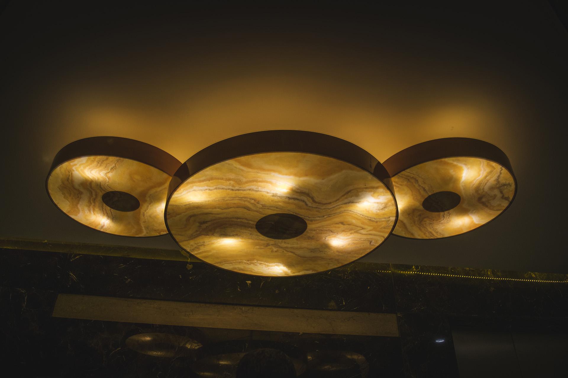 Circular shaped Custom Lights