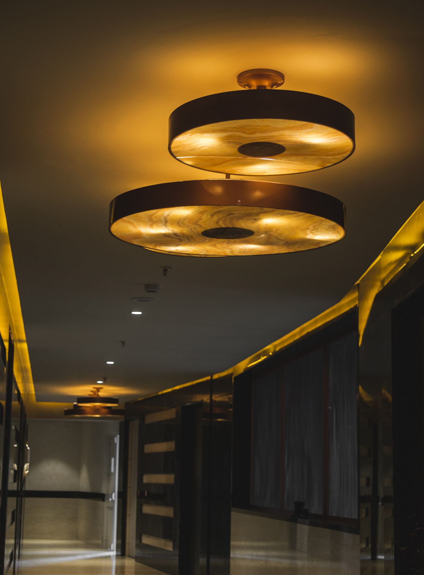 Ceiling Copper Lights