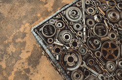 Automobile Scrap Powerful Bench