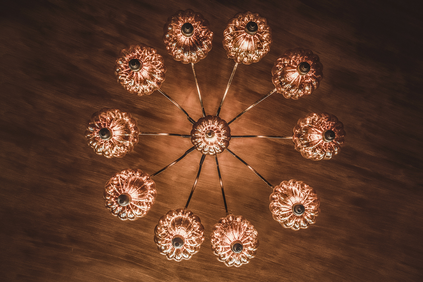 Pumpkin lamp Chandelier